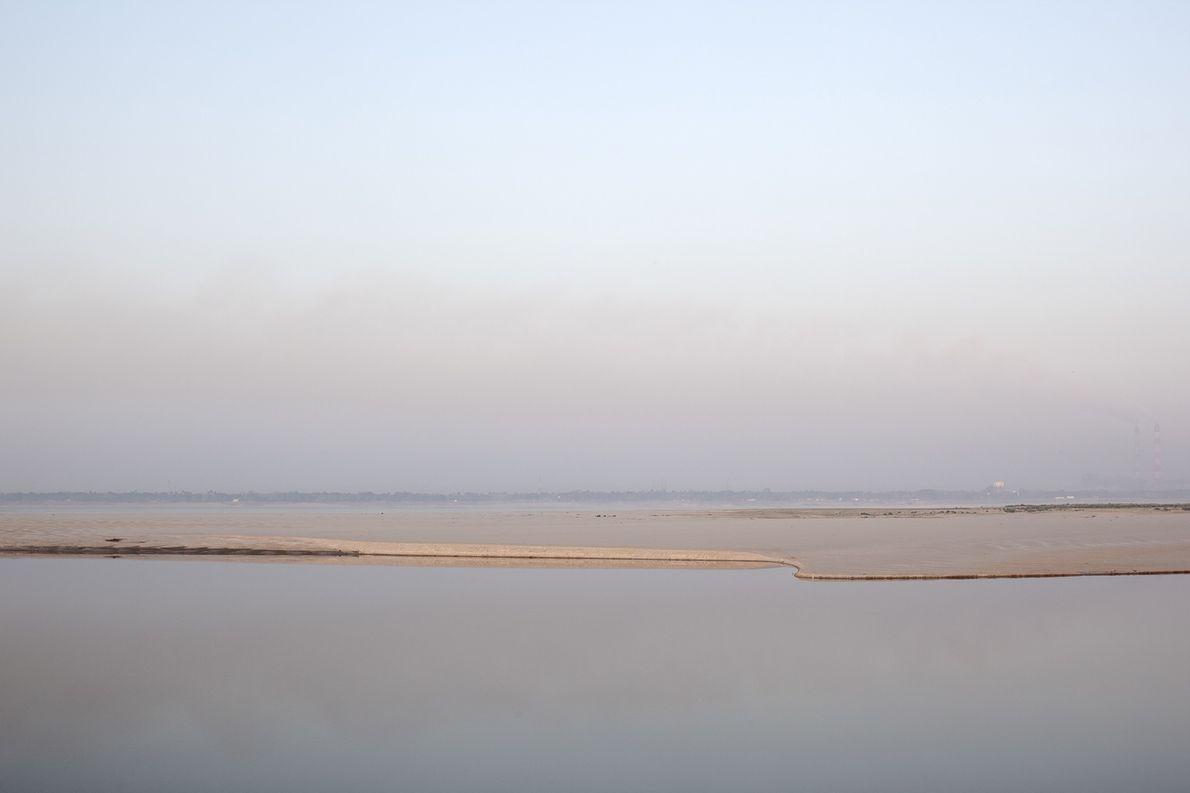 Ein Stück Land mitten im Ganges