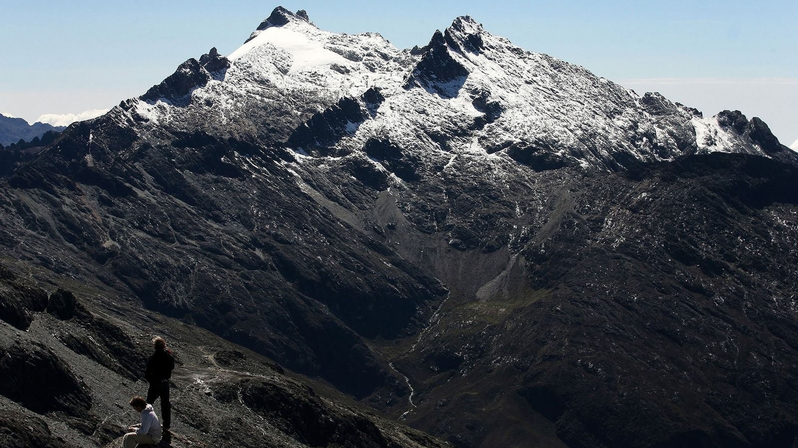 Der Pico Humboldt in den venezolanischen Anden beheimatet den letzten Gletscher des Landes. In wenigen Jahren ...