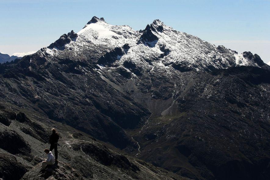 Venezuelas letzter Gletscher schmilzt unaufhaltsam