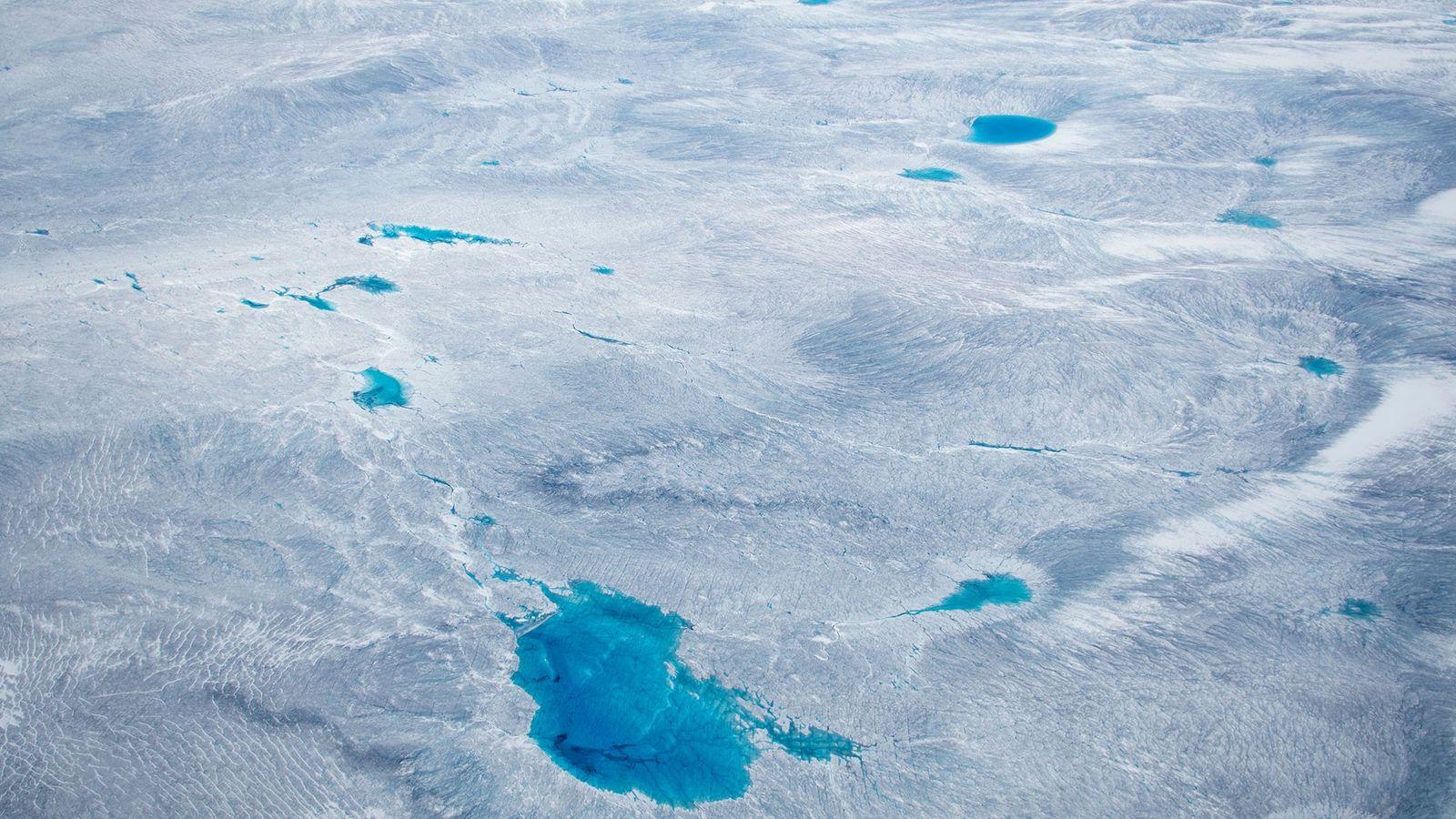 Noch bedeckt eine gewaltige Eisschicht Grönland, die größte Insel des Planeten – aber wie lange noch?