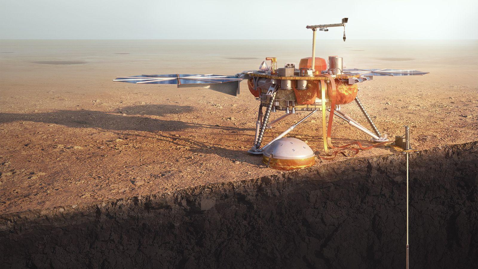 InSight Lander der NASA