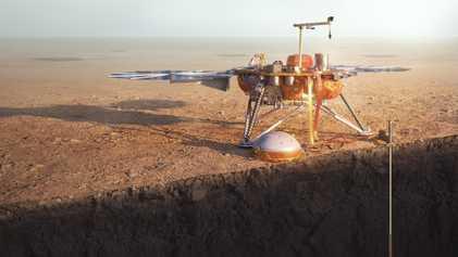 Touchdown: InSight soll das Herz des Roten Planeten erforschen