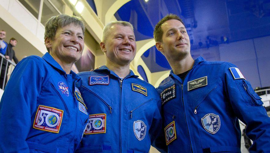 Astronautin bricht Weltraum-Rekord