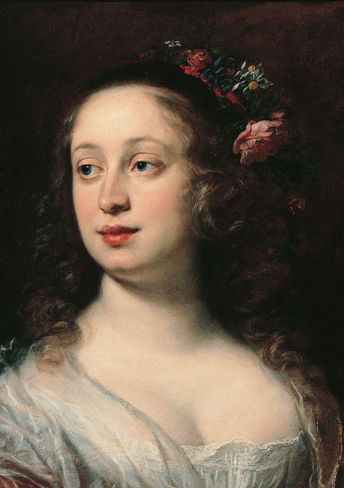 Ein Porträt der Großherzogin Vittoria della Rovere von Justus Sustermans.