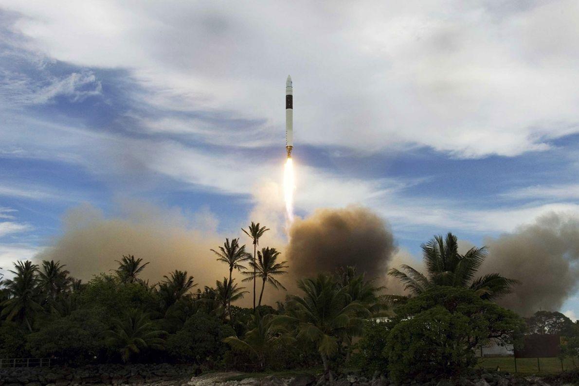 Nach drei fehlgeschlagenen Starts konnte der SpaceX-Gründer Elon Musk noch genug Geld aufbringen, um eine vierte ...