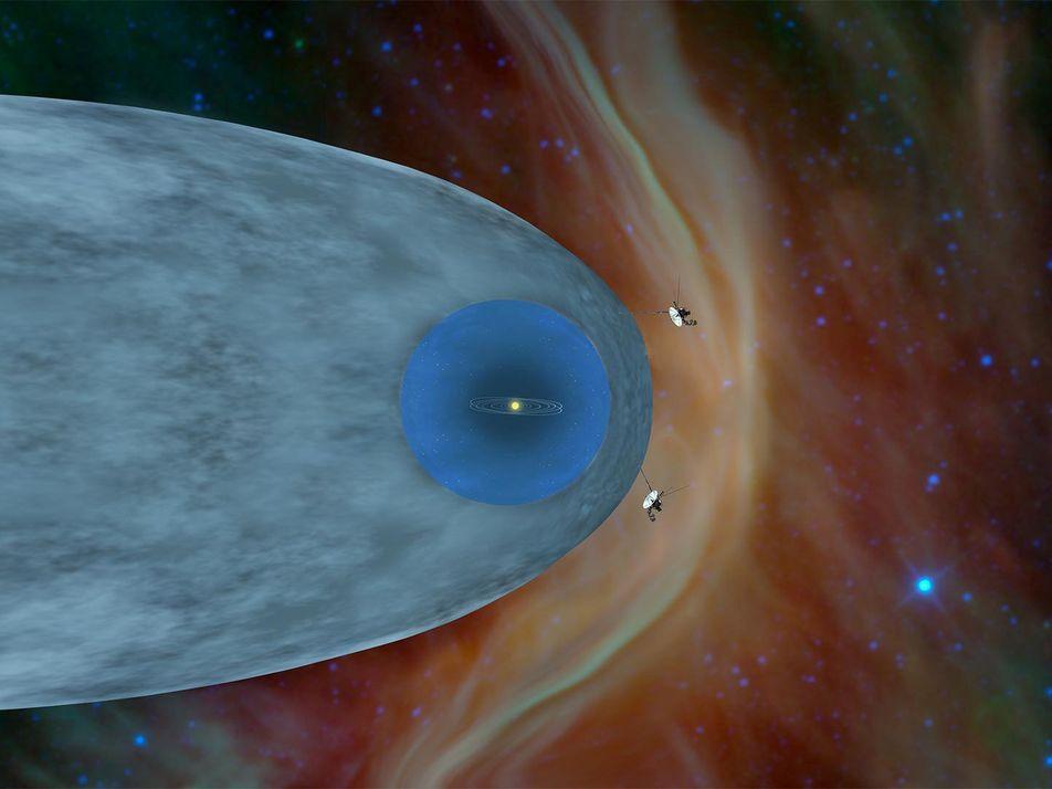 Voyager-Sonden: Interstellarer Raum noch seltsamer als gedacht