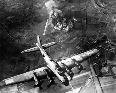 Schockwellen von Weltkriegsbomben reisten zum Rand des Weltraums