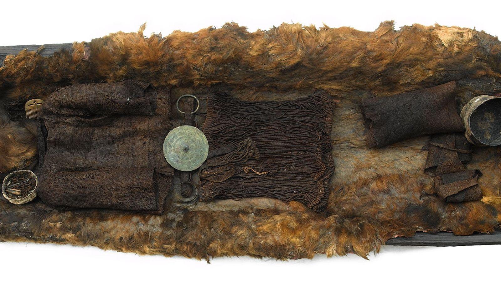 Überreste eines über 3.000 Jahre erhaltenen Mädchens