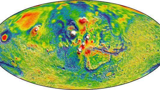 3 coole Dinge, die wir aus der Gravitationskarte der NASA gelernt haben