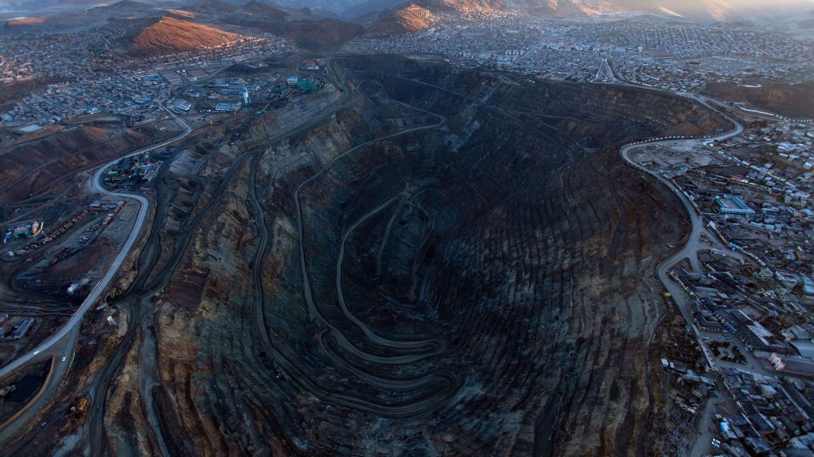 Peruanische Mine