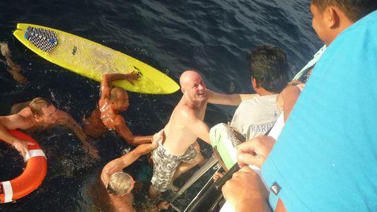 Überlebenskampf ohne Hilfsmittel: 28 Stunden allein im Meer