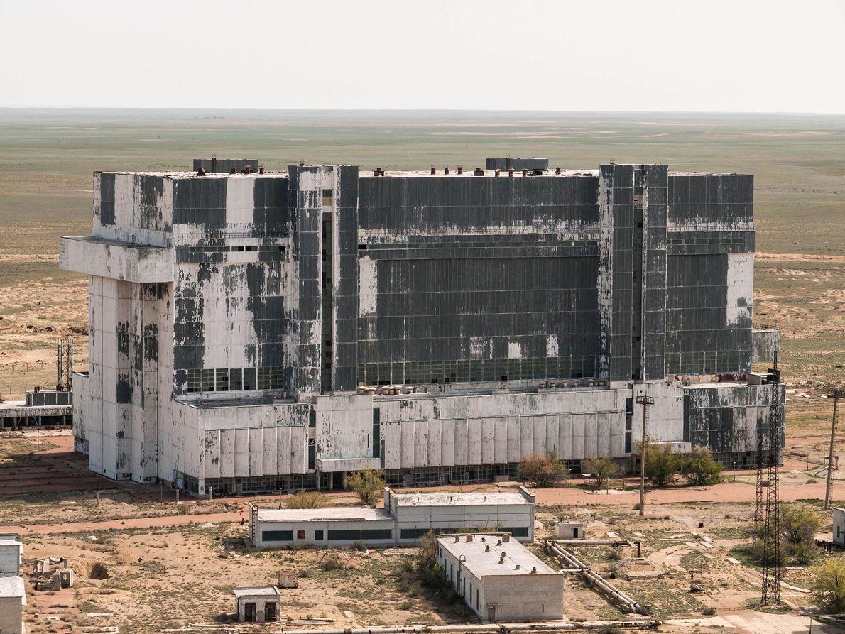 Bild des Hangars in Russland