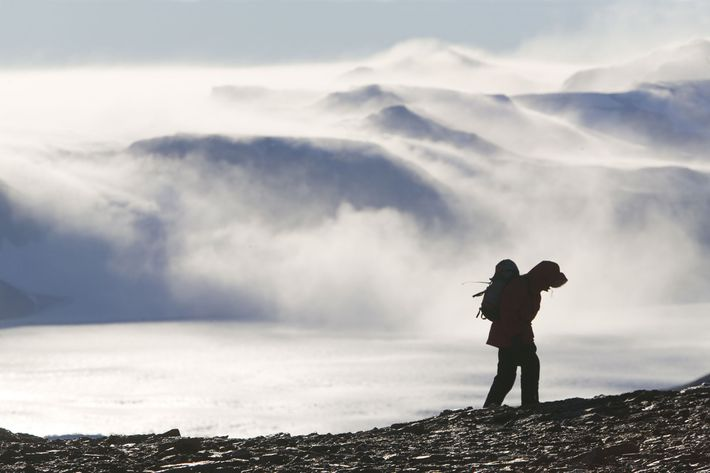 Die Eisdecke im Osten der Antarktis galt einst als stabil, aber Wissenschaftler sorgen sich nun zunehmend ...