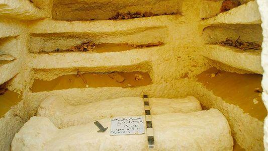 Drei neue Gräber aus dem alten Ägypten entdeckt