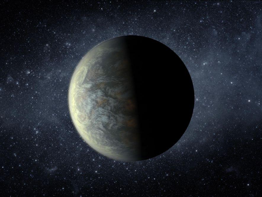 Der Planet mit der Bezeichnung Kepler-20f benötigt für eine Umrundung seines Sterns 20 Tage und hat ...