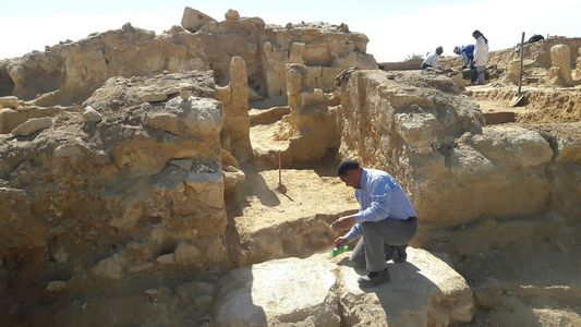 Griechisch-römischer Tempel in Ägypten entdeckt
