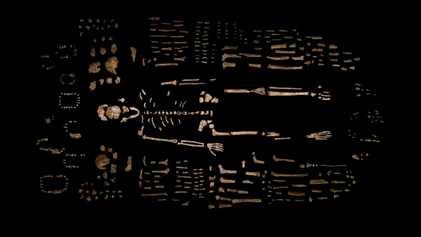 Galerie: Höhlenforscher finden neue Fossilien eines geheimnisvollen menschlichen Verwandten