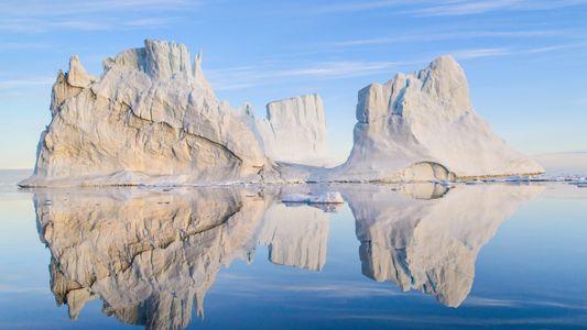 Galerie: Das wilde Winterwunderland der Arktis von oben