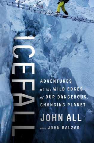 """Das Buchcover von John Alls """"Icefall"""""""