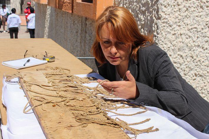 Anthropologin Sabine Hyland