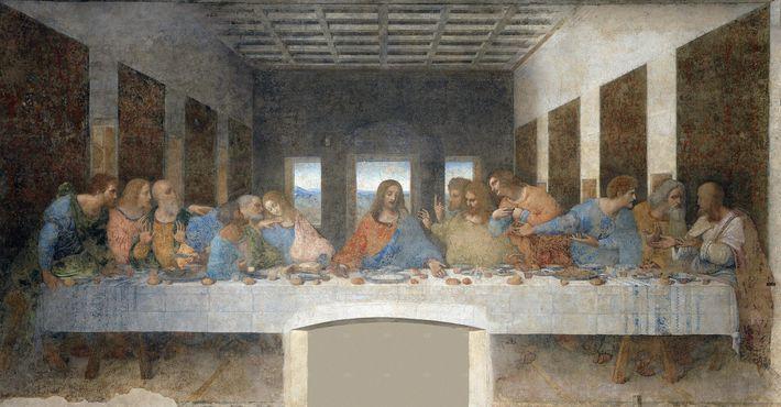 """Leonardo da Vincis """"Letztes Abendmahl""""."""