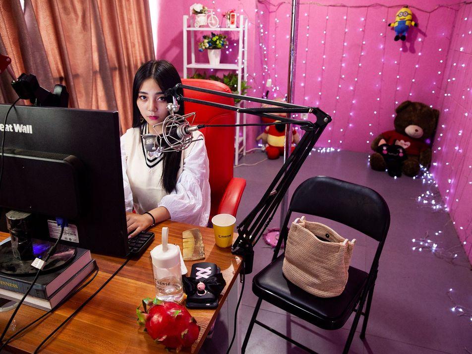 Galerie: Die einsamen Herzen hinter Asiens Livestreaming-Industrie