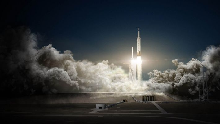 Falcon-Rakete