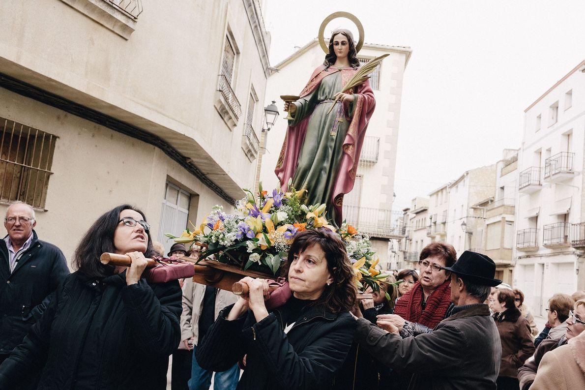 """Aufnahmen zeigen die """"Mikrodörfer"""" des geteilten Kataloniens"""