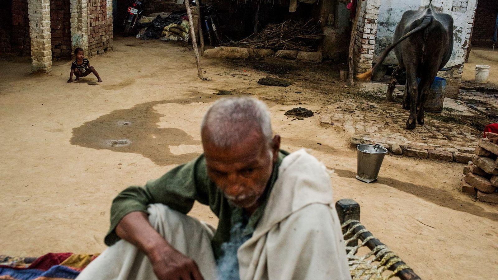 Mitglied einer niederen Hindu-Kaste