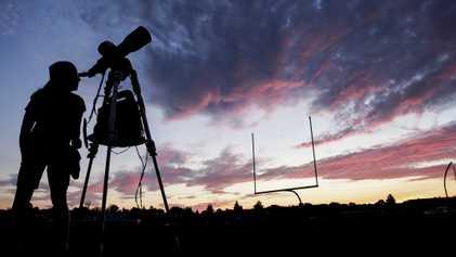 Faszinierende Fotos der Sonnenfinsternis