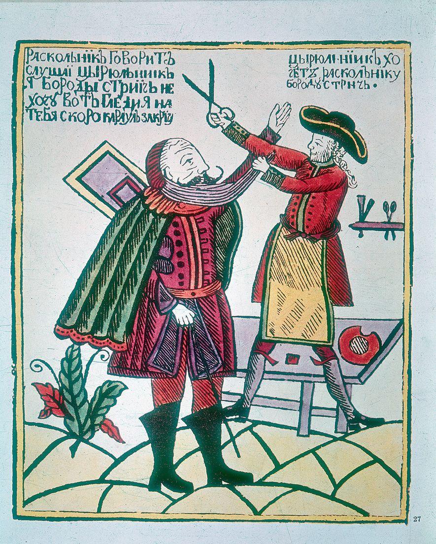 Der Zar und Kaiser Peter der Große wollte Russland europäischer machen. Eine seiner Methoden: Er erhob ...