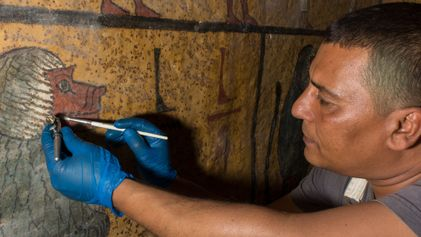 """Galerie: Neuer """"Fluch"""" des Pharaonengrabs: Tutanchamun abgestaubt"""