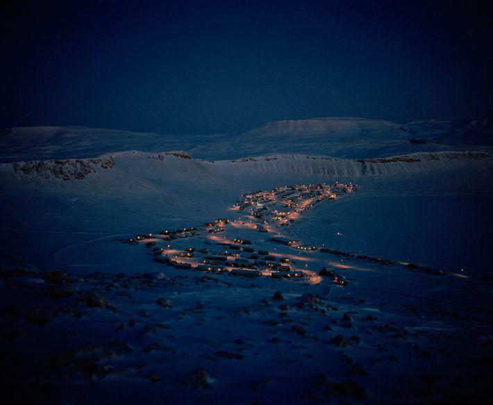 Die Gemeinde von Arctic Bay