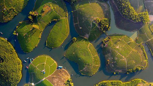 Schönes Vietnam: Faszinierende Momentaufnahmen aus der Vogelperspektive