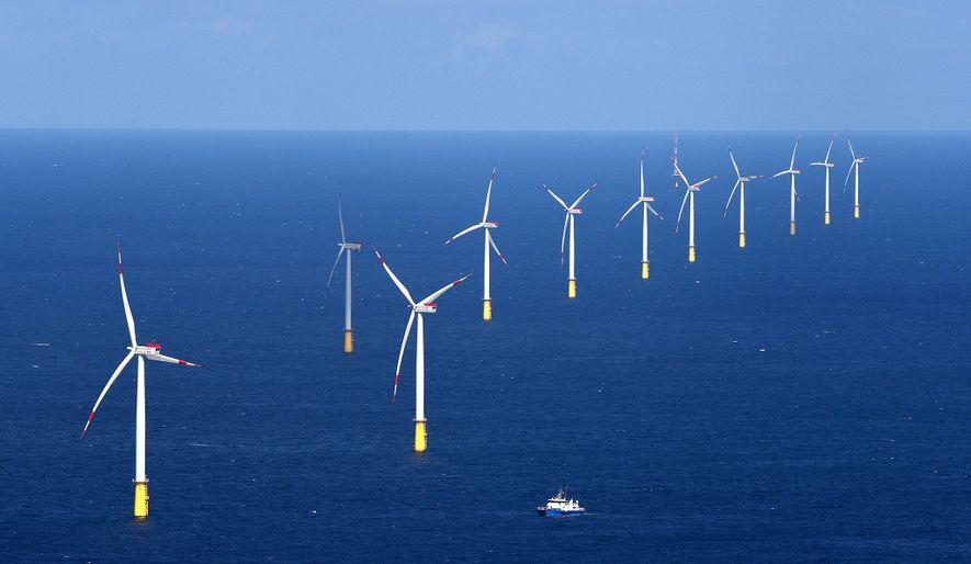 Der Offshore-Windpark DanTysk in der Nordsee beliefert München mit CO2-neutralem Strom.