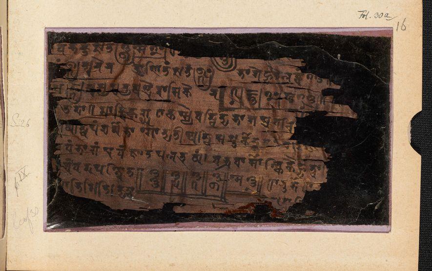 Altes Manuskript liefert neue Hinweise auf den Ursprung der Zahl Null