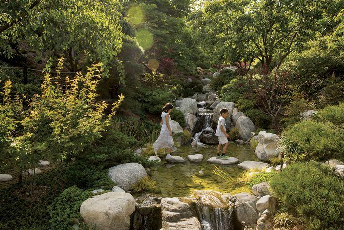 Der Japanese Friendship Garden in San Diego soll den Besuchern Ruhe bringen und sie dazu anregen, ...