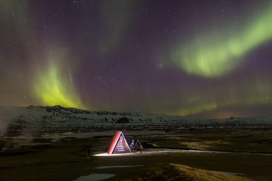 Islands Nachthimmel: Dem Weltraum so nah wie möglich