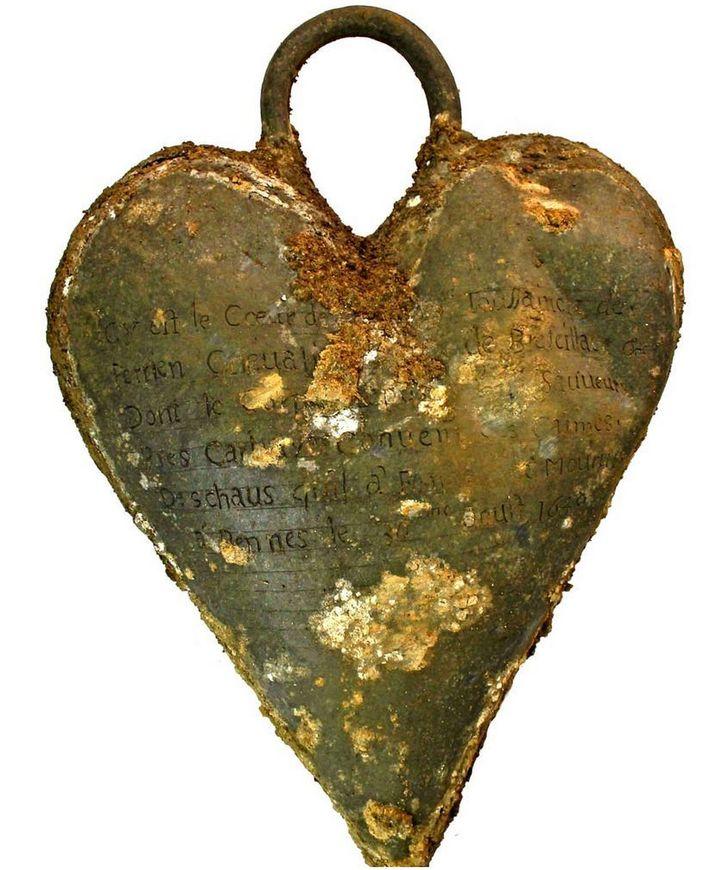 Herz des Ritters Toussaint de Perrien
