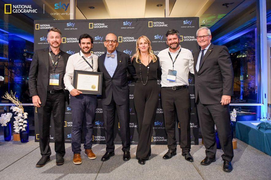 Das Gewinnerteam der Kategorie Kreislaufwirtschaft kommt aus Chile: Algramo.