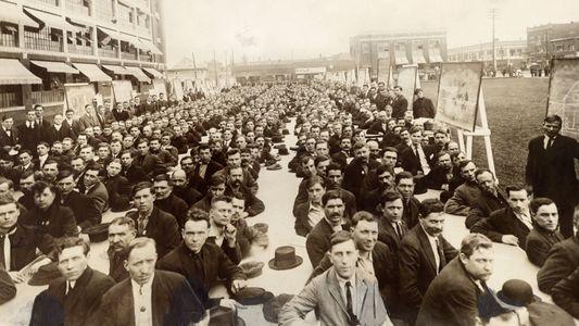 Die Gesichter amerikanischer Einwanderer von 1917
