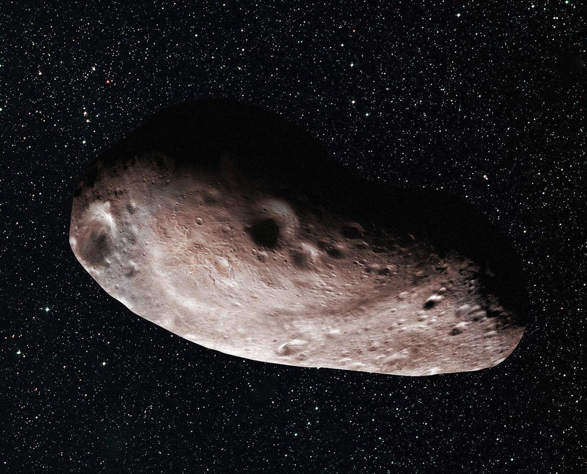 Vor dem Vorbeiflug rätselten die Forscher, ob es sich bei MU69 um einen einzigen Körper (wie ...