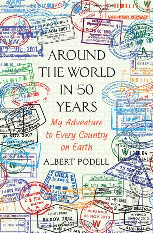 Buchcover von Around the World in 50 Years von Albert Podell