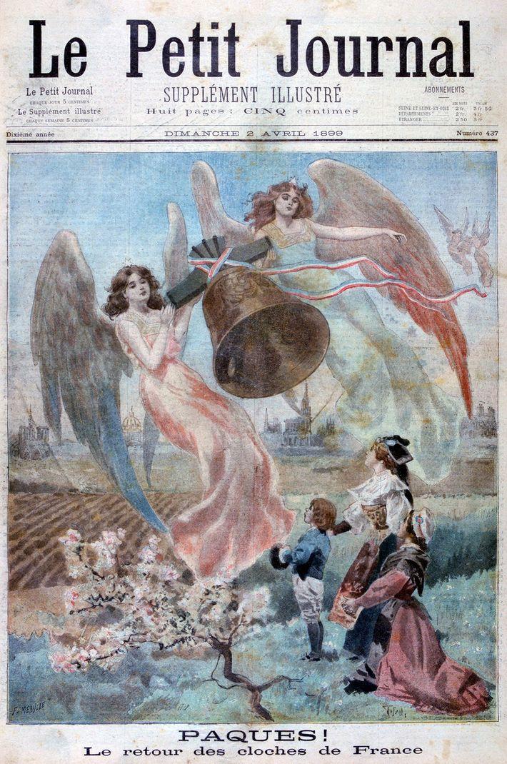 Titelseite des Petit Journal