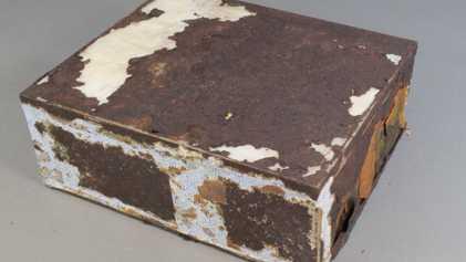 Galerie: 100 Jahre altes Früchtebrot in der Antarktis fast noch essbar