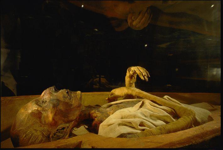 Überreste von Ramses II