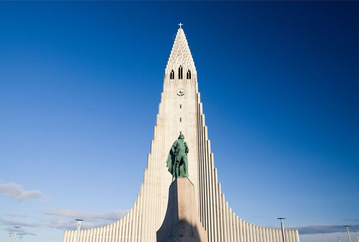 Statue von Leif Erikson