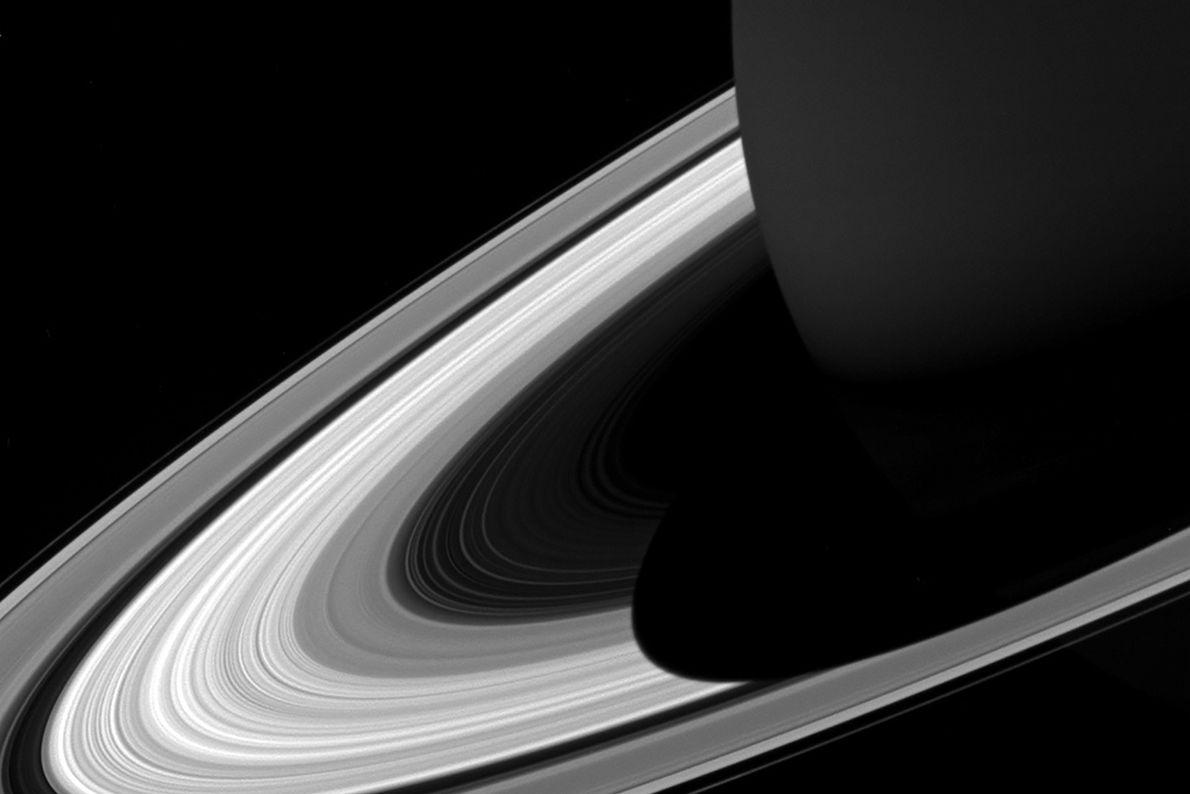 Bild des Saturnschattens