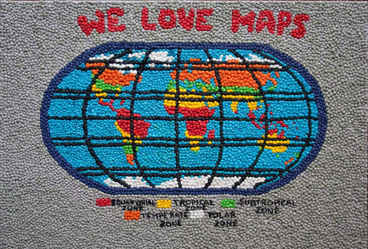 We love maps