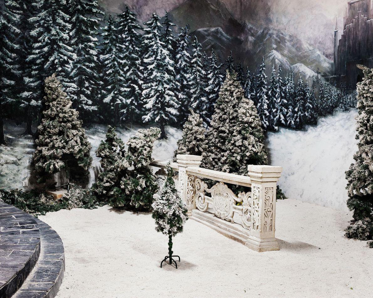 Auch Winterszenerien sind sehr beliebt.